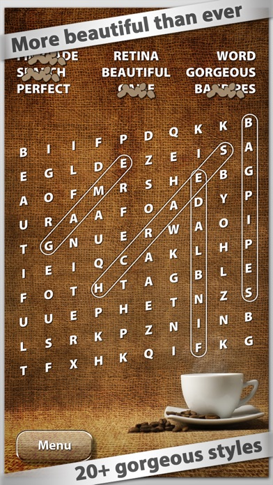 Wordsearch review screenshots