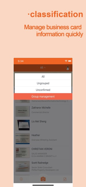 Wecardbusiness card scanner on the app store colourmoves