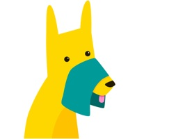 A brand new sticker app with the breakout star, NapkinDog
