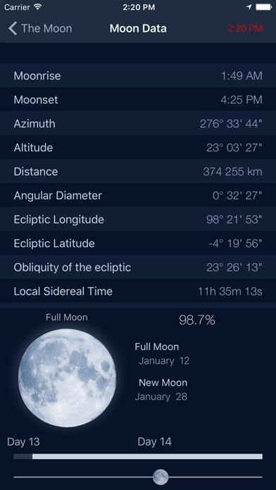 The Moon: Calendar Moon Phases Screenshot