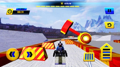 Racing Snowmobiles Mayhem screenshot four