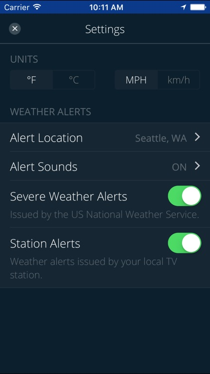 KOMO WX screenshot-4