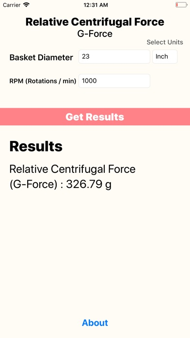 Relative Centrifugal Force screenshot 3