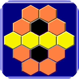 Dark Hexagon - Block