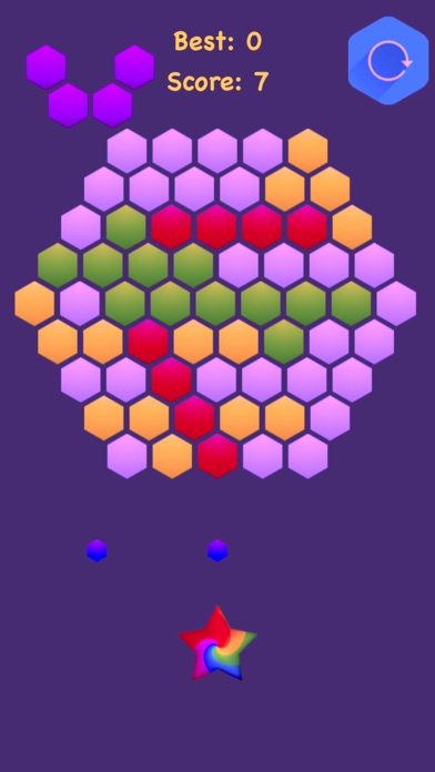 Hexagonal Merge : Premium screenshot 2