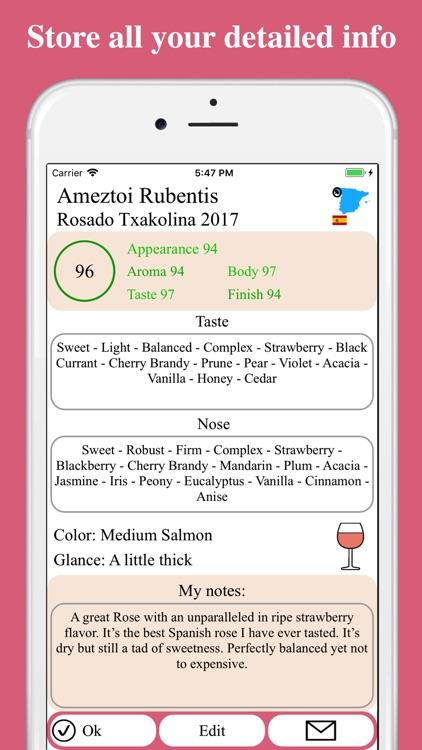 Rose Wine Rating screenshot-4