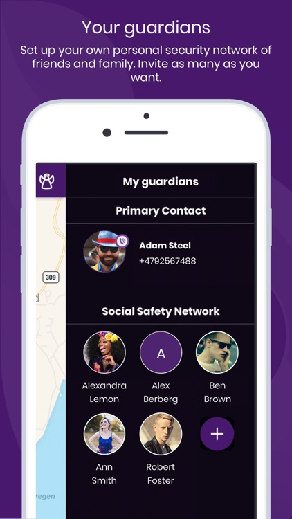 bSafe - Personal Safety App screenshot-4