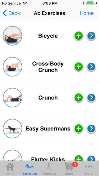 Six Pack Workouts App screenshot-3