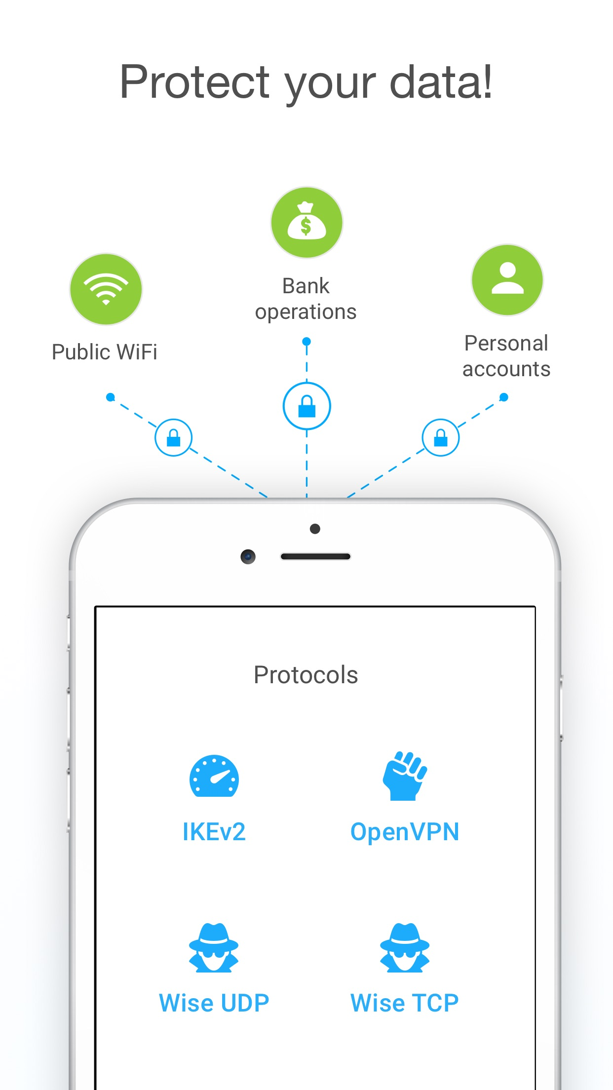 VPN Unlimited - WiFi Proxy Screenshot