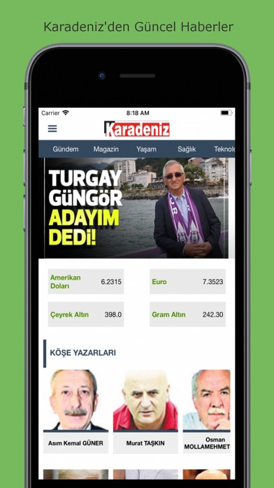 Karadeniz Gazete screenshot two