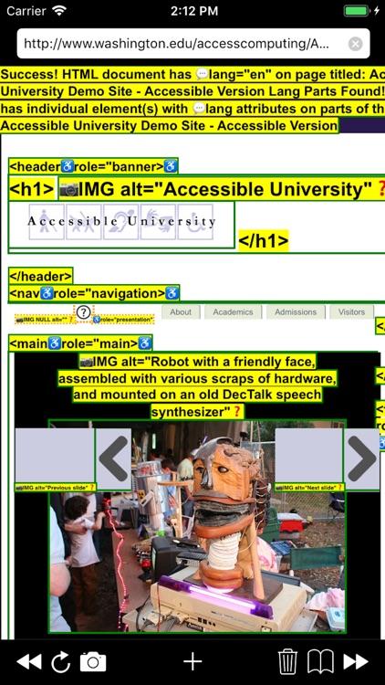 a11yTools - Web Accessibility