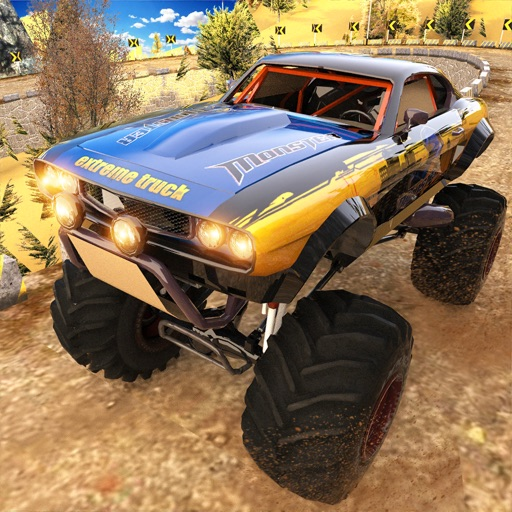 Monster Truck: Lets Go Offroad iOS App
