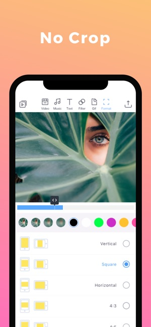 Filmr - movie & video editor Screenshot