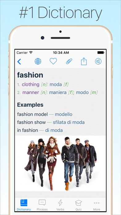 Italian Dictionary review screenshots