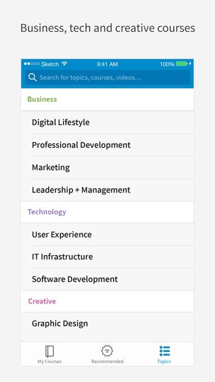 LinkedIn Learning screenshot-3