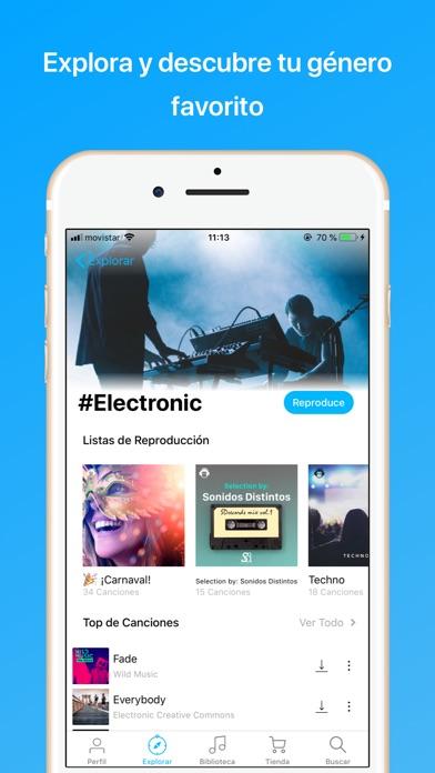 download MonkingMe Descargar Música apps 3