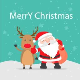 Santa Claus Adventure Stickers