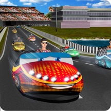 Real City Bumper Car Racing 3D