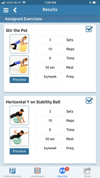 PostureScreen Mobile screenshot-7