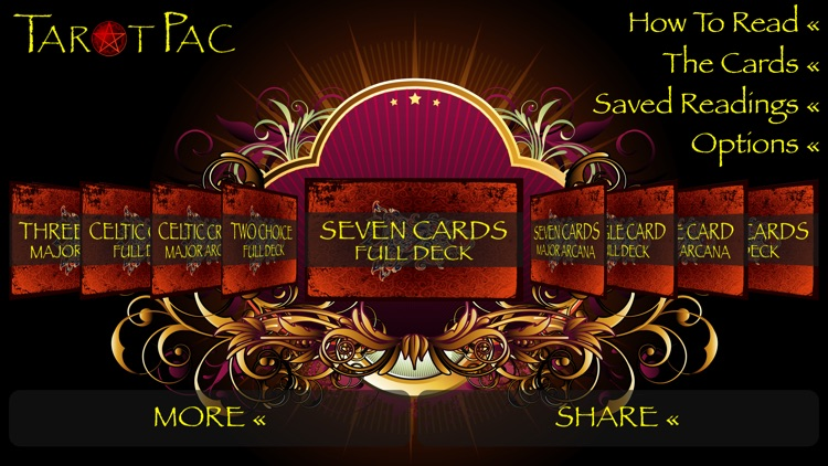 TarotPac Tarot Cards screenshot-0