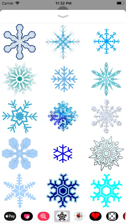 Snowflake Sticker Pack screenshot-4