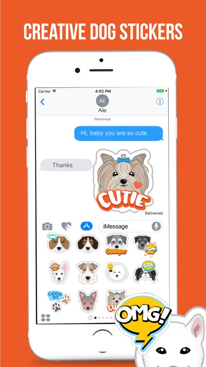Lovely Dog Stickers Pack screenshot-4