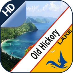 Old Hickory Lake gps offline nautical chart