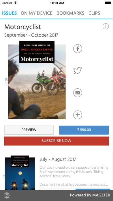 Motorcyclist screenshot 1