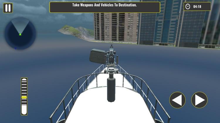Offroad Army Truck – Cargo Ship & Flight Simulator