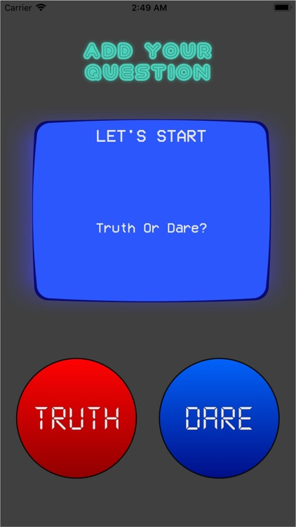 Truth Or Dare - Group Game