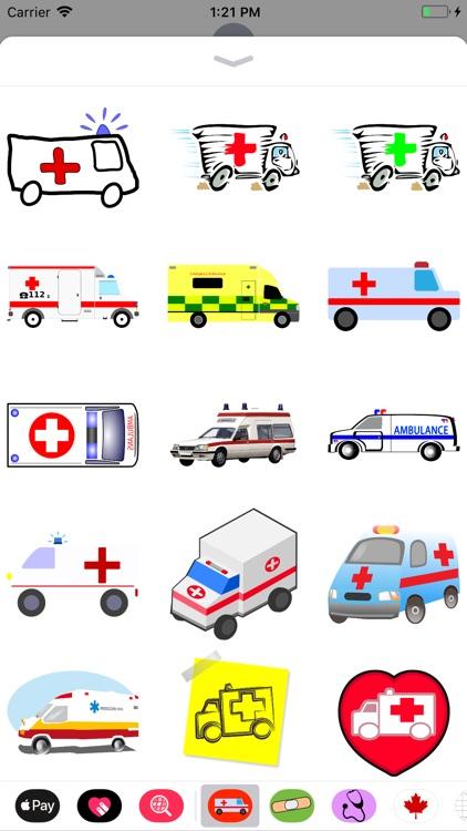 Ambulance Stickers