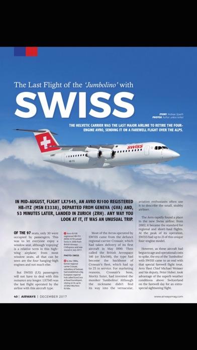 Airways Magazine screenshot three