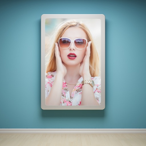 Photo Frames Editor - Virtual Glam Up Studio iOS App