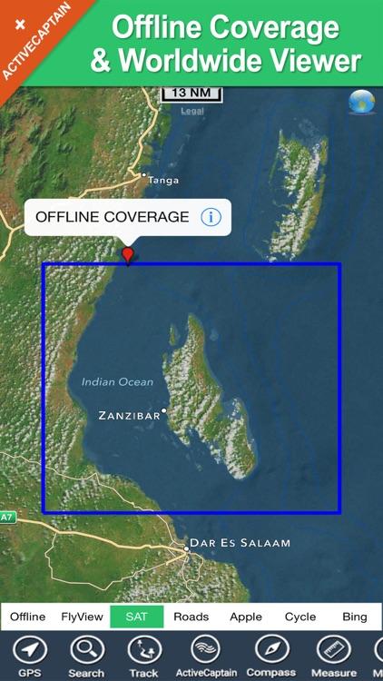 Zanzibar - GPS Map Navigator screenshot-4