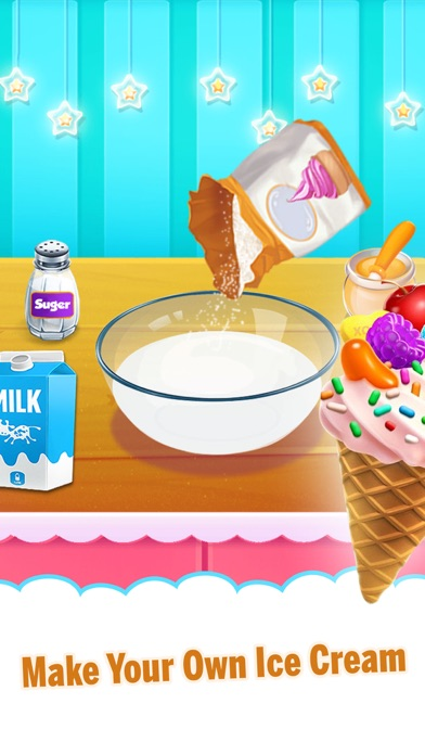 Yummy Ice Cream Making Shop screenshot three