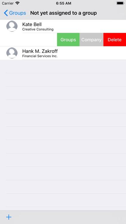 Contact Groups App screenshot-3