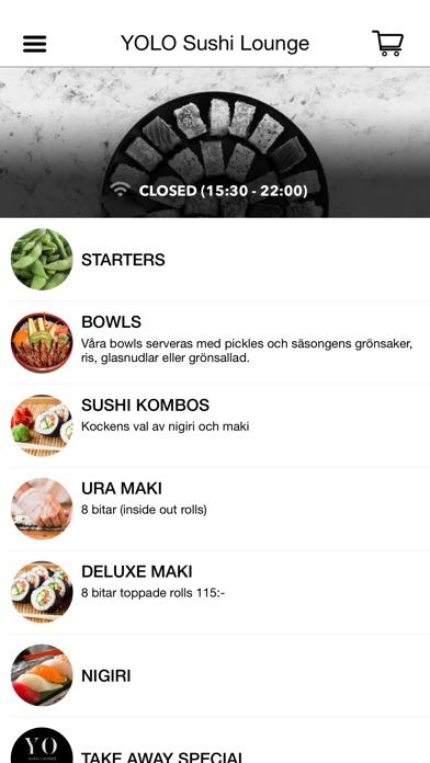 YOLO lounge Screenshot