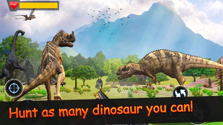 Dinosaur Hunt Jurrasic screenshot-7