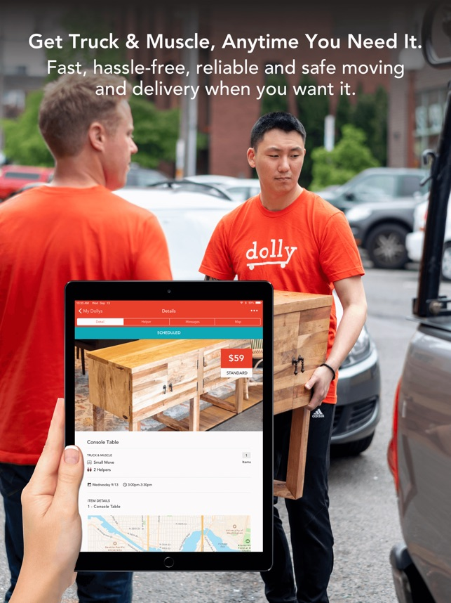 dolly moving delivery help on the app store