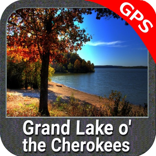 Grand Lake o the Cherokees GPS charts Navigator