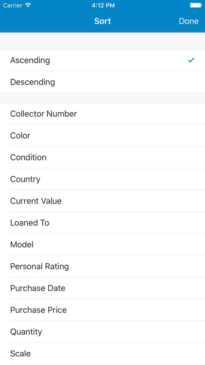 Toy Car Collector Database screenshot-2