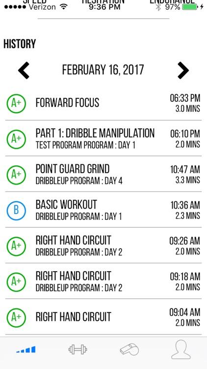 DribbleUp Basketball Training screenshot-3