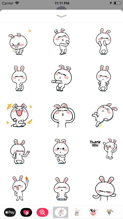 Crazy Bunny Animated