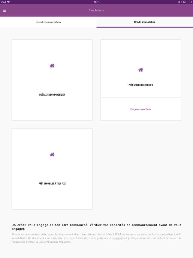 Casden Banque Populaire Dans L App Store