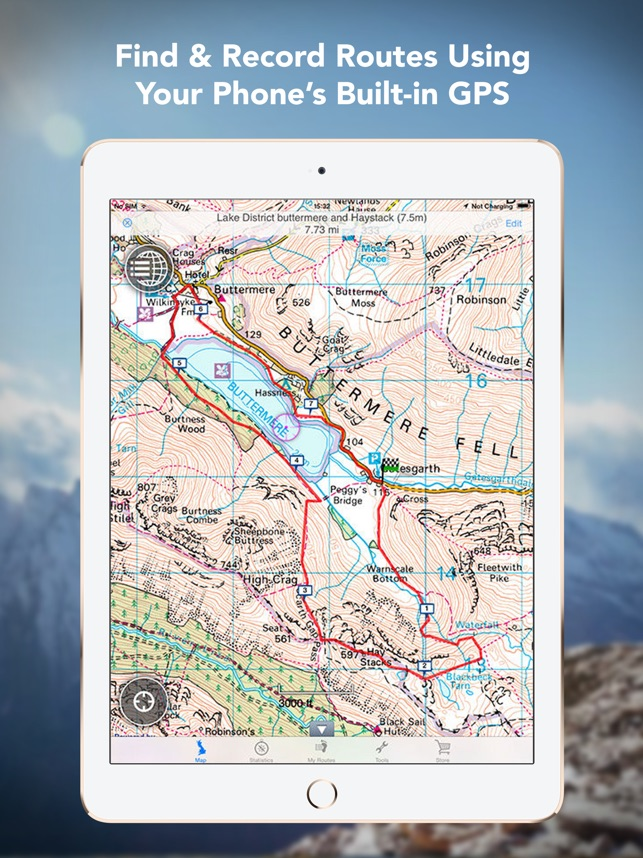 Outdoors GB Offline OS Maps