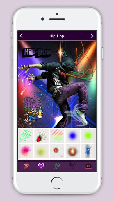 Hip Hop Photo Editor screenshot two