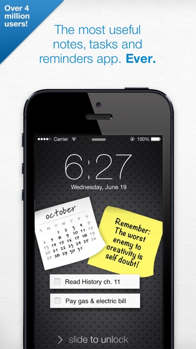 Screenshot for Notefuly - Sticky Notes in Denmark App Store