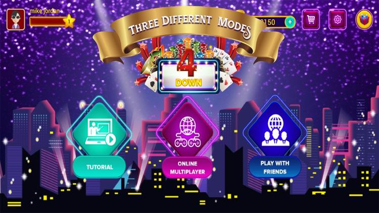 4Down - Social Card Game screenshot-5