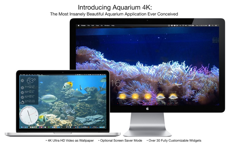 Aquarium 4K - Live Wallpaper Screenshots