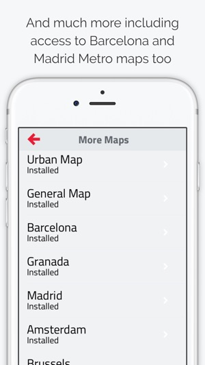 Valencia Metro Map on the App Store